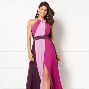 Eva Mendes Dresses - Eva Mendes Antonia Purple Maxi dress